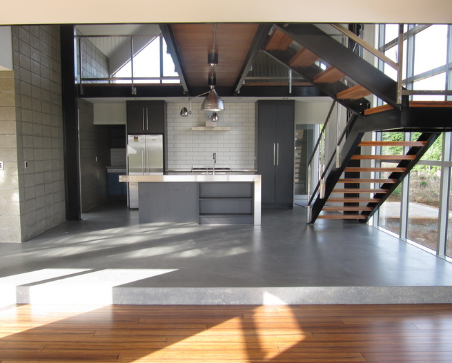 Member architecture women nz for Polished concrete floors nz